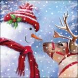 Ziemlich beste Freunde, Schneeman und Rentier - best friends, snowman and reindeer - Intouchables, bonhomme de neige et des rennes