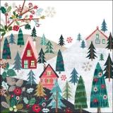 Dorf, Tannen, Berge, Urlaub... - Village, fir trees, Mountaisn, Vacation... - Village, sapins, montagnes, vacances ...
