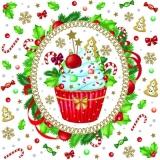 Sehr leckerer Cupcake, Muffin, kleines Törtchen - Tasty cupcake - Petit gâteau très délicieux