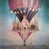 Ballon, Haus, Elefant, Anker - Balloon, house, elephant, anchor - Ballon, maison, éléphant, Anchor