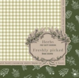 Frisch gepflückte Kräuter - Herbs for tasty cooking, Freshly picked, home grown - herbes fraîchement cueillies