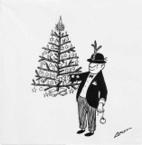 Loriot, Mein Weihnachtsbaum - My Christmas tree - Mon arbre de noël