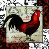 Französischer Hahn & Brief - French rooster & letter - Coq français et lettre