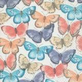 Schmetterlinge in zarten Pastellfarben - Butterflies in delicate pastel colors - Papillons dans des couleurs pastel délicates