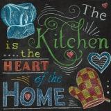 Die Küche ist das Herz des Hauses - The kitchen is the heart of the home  - La cuisine est le coeur de la maison