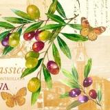 Schmetterlinge & mediterrane Oliven - Butterflies & Mediterranean Olives - Papillons et olives méditerranéennes