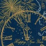 Uhr, Feuerwerk, Silvester, Neujahr, Frohes Neues Jahr - Clock, Fireworks, New Years Eve, New Year, Happy New Year - Horloge, feux dartifice, nouvel an, bonne année