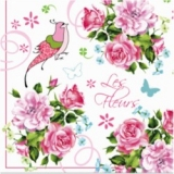 Phantasivogel & Schmetterlinge im Rosengarten - Fantasy bird & butterflies in the rose garden - Oiseau fantaisie et papillons dans la roseraie