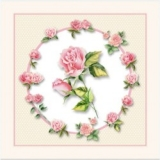 Rosen mit Rosenkranz - Roses with rosary - Roses avec chapelet
