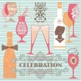 Champagner, Wein, Cocktails, Feier, Party, Karneval, Silvester, Geburtstag, Hochzeit.... - Champagne, wine, cocktails, Celebration, Party, Carnival, New Year, Birthday, Wedding ....-  Champagne, vin,