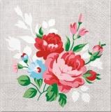 Blumen auf Leinen - Flowers on Linen - Fleurs sur le lin