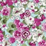 Überall hübsche Stiefmütterchen, rosa - Pretty pansies everywhere, pink - De jolies pensées partout rose