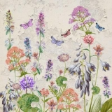 Schmetterlinge im Blumengarten - Butterflies in the flower garden - Papillons dans le jardin de fleurs