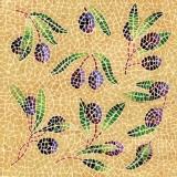 Mosaikoliven -  Mosaique Olives  - olives mosaïque
