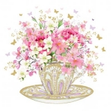 kleine Schmetterlinge & hübscher Blumenstrauss - little butterflies & pretty bouquet - petits papillons et joli bouquet