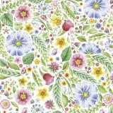 schönes buntes Blumenmeer - beautiful colorful flower sea -belle mer fleur colorée