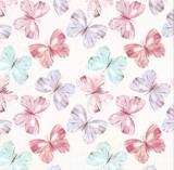 84 pastellfarbene Schmetterlinge - 84 pastel-colored butterflies - 84 papillons aux couleurs pastel