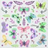 viele bunte Schmetterlinge & Zweige mit Blüten - many colorful butterflies & branches with flowers - beaucoup de papillons colorés et de branches avec des fleurs