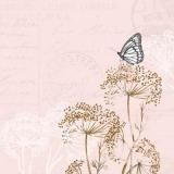 Schmetterling besucht Doldengewächse - Butterfly visits Umbelliferae - Un papillon visite des ombellifères