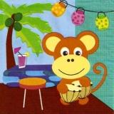Feier mit Affe
