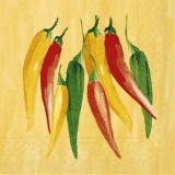 bunte Chilischoten - colorful chili peppers - piments colorés