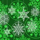 grünes weihnachtliches Muster - green christmas pattern - motif de Noël vert