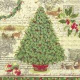 grüner Weihnachtsbaum - green christmas tree - arbre de Noël vert