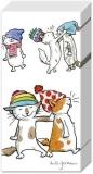 lustige Katzen mit Mützen - funny cats with hats - Chats drôles avec des chapeaux