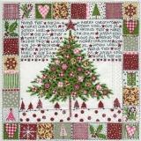 gemalter Weihnachtsbaum - painted christmas tree - arbre de Noël peint