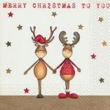 2 Freunde, Rentier und Elch - 2 friends, reindeer and moose - 2 amis, rennes et orignaux