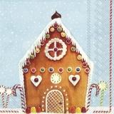 Pfefferkuchenhaus & Zuckerstangen - Gingerbread House & Candy Canes -Maison de pain d épice et cannes de bonbon