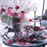 gefrorene Rosen  - frozen roses - roses congelées