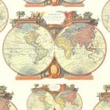 2 prachtvolle Weltkugeln - 2 magnificent world globes - 2 magnifiques globes du monde