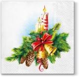 Glocken, Kerzen & Tannengrün - Bells, candles & fir green - Cloches, bougies et sapin vert