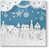 ein Dorf aus Papiersilhouetten - a village of paper silhouettes - un village de silhouettes de papier