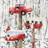 Retro Fahrzeuge und Anhänger als Vogelhäuser - Retro vehicles and trailers as birdhouses - Véhicules rétro et remorques comme nichoirs