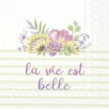 Zarte, pastellfarbene Blumen, Das Leben ist schön in hellgrün - Delicate, pastel-colored flowers, Life is beautiful, in light green - Délicates, fleurs aux couleurs pastel, la vie est belle,en vert cl