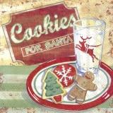 Kekse für den Weihnachtsmann - Cookies for Santa Claus - Biscuits pour le père Noël