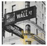 Broadway, Ecke Wall Street in New York