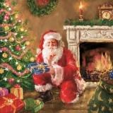 Psst, der Weihnachtsmann bringt Geschenke - Psst, Santa Claus brings presents - Psst, le père Noël apporte des cadeaux