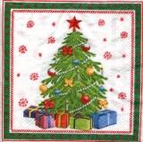 schön geschmückter Weihnachtsbaum - beautifully decorated Christmas tree - arbre de Noël joliment décoré