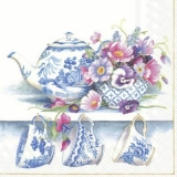 chinesisches Porzellan mit schönen Blumen - Chinese porcelain with beautiful flowers - Porcelaine chinoise avec de belles fleurs