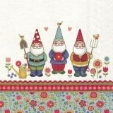 3 Zwerge im Garten - 3 dwarfs in the garden - 3 nains dans le jardin