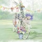 Blumenfahrrad - flower bike - vélo fleur