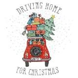 ein Auto voller Geschenke - a car full of presents - une voiture pleine de cadeaux