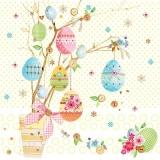bunter Eierstrauss - colorful bunch of eggs - bouquet d oeufs colorés