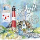 Sylter Leuchtturm - Sylt lighthouse - Phare de Sylt