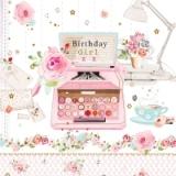 Geburtstagsschreibmaschine - Birthday typewriter - machine à écrire anniversaire