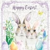 Herr und Frau Osterhase - Mr. and Mrs. Easter bunny - M. et Mme lapin de Pâques