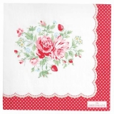 Greengate - zarte Rosen mit Erdbeeren - delicate roses with strawberries - roses délicates aux fraises